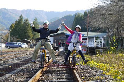レールバイク Gattan Go _電動自転車