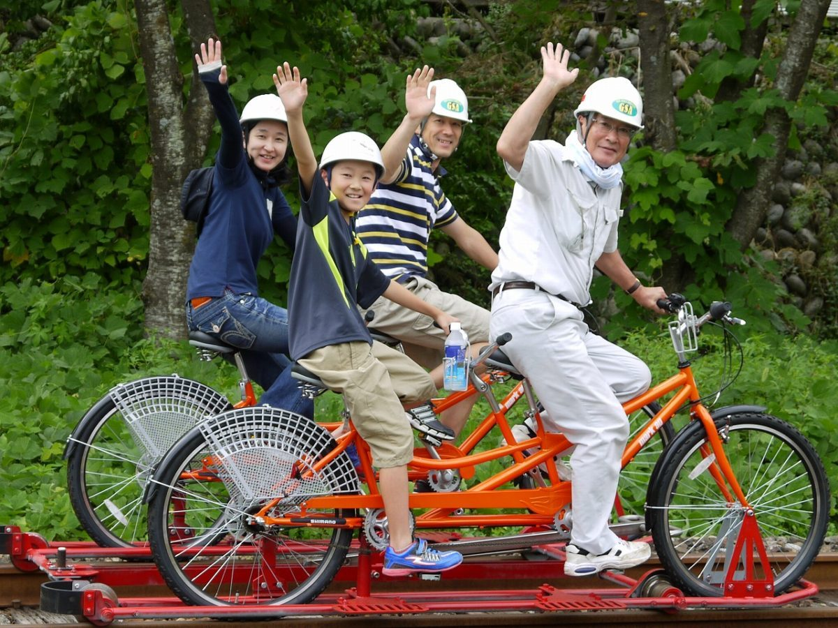 レールバイク Gattan Go _タンデム自転車